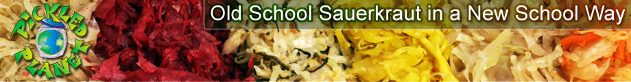 Pickled Planet Sauerkraut - Old World Sauerkraut in a New School Way