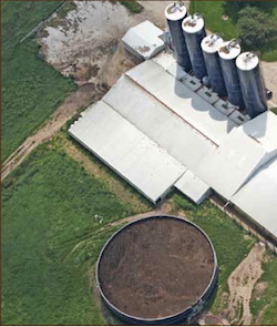 Factory farm waste