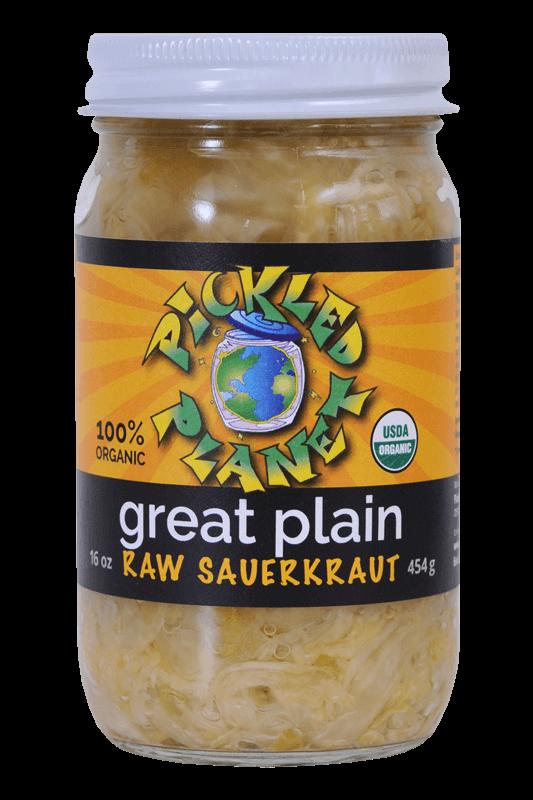 Plain Organic Fermented Sauerkraut