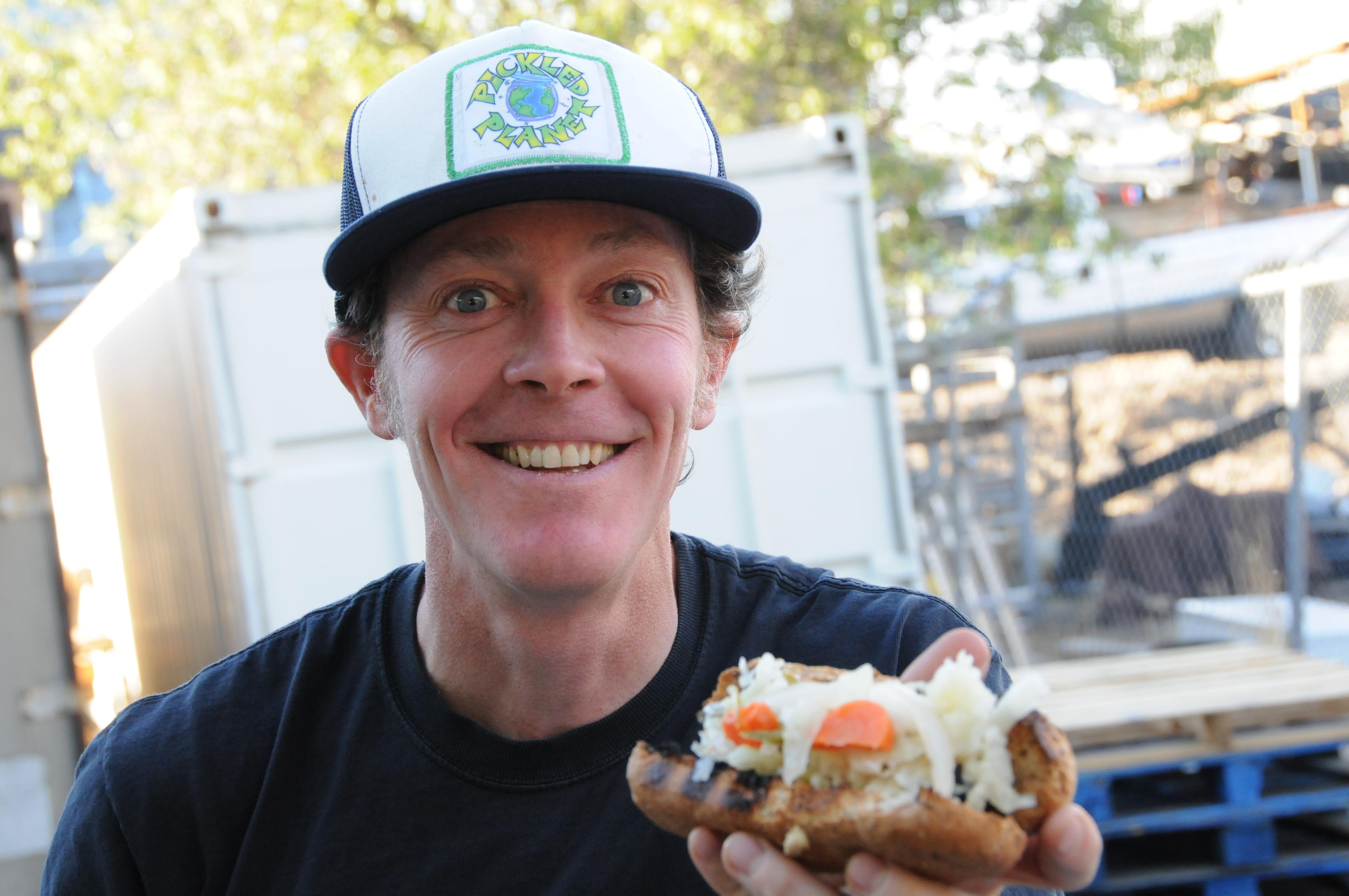 Owner of Pickled Planet Sauerkraut